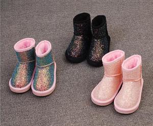 el envío libre del envío 2018 nuevo invierno de los niños impermeables botas de invierno cálido chicos, chicas, niños australianos botas para la nieve libre