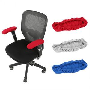 2 шт. / Лот эластичный эластичный офисный стул подлокотник покрывает съемный компьютер стул рукой защитник творческий коврик для дома