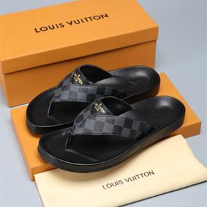 Men Women Sandals Designer Shoes Luxury Slide Summer Fashion Wide Flat Slippery Sandals Slipper Flip Flop size 38-44 flower box