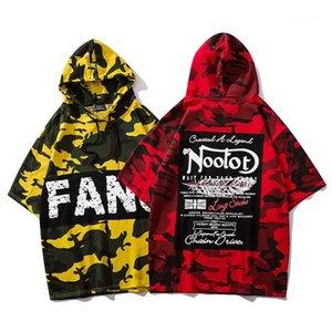 Tees Camouflage Letter Mens Designer Tshills Hip Hop Oversize Short Sleeded Hoodlover Tshanks Fashions