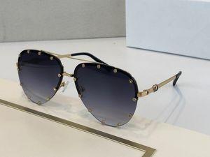 2039 인기 새로운 브랜드 선글라스 명품 레트로 라운드 프레임 안경 트렌드 아방가르드 스타일 안경 렌즈 레이저 UV400 보호 박스