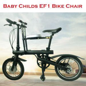 Bebé niño bicicleta silla asiento para Mijia Qicycle EF1 bicicleta eléctrica plegable E-Bike sillín niños asiento plegable silla