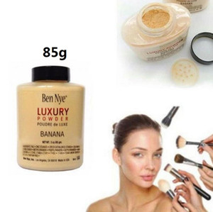New hot Ben Nye Banana Powder 3 oz Bottle Face Makeup banana brighten long-lasting luxury powder 85g