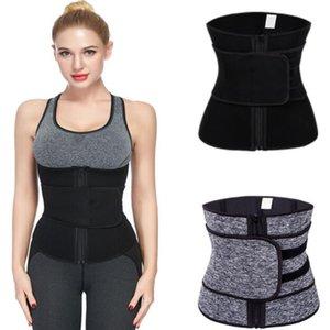 2020 New Women Waist Trainer Neoprene Belt Hot Sauna Sweat Body Shaper Tummy Slim Control Modeling Strap Belt Slimming Corset