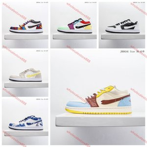 xshfbcl New 1 Mid Fearless White Satin Silk Basketball Shoes Men 1s Edison Sports Sneakers