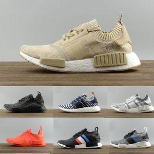 ayakkabı tasarımcısı R1 R2 spor ayakkabı Erkek Kadınlara özel spor ayakkabıları Siyah Beyaz Oreo Acil Durum Kamuflaj rahat ayakkabı