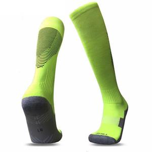 Nuova vendita calda Uomo Calcio Calza team Vari colori Personalizzazione calze lunghe calze antiscivolo gioco del calcio di sport # C2019201034CM