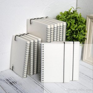 A5 나선형 책 코일 노트북 줄 지어 DOT 빈 그리드 종이 저널 일기 스케치북을 위해 학교 문구 용품 상점 공급