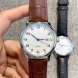 Top New style Quartz Watches for man Popular sports Leather Dress Wristwatch Business wristwatches High quality Fashion Casual Elegant Watch