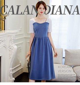 Лаванда Big Show Thin Solid Color Fashion Leisure Развивайте своего Мораль дресс-код