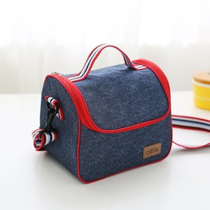 Picnic T03 Insulated Oxford Portable Bag DH1139 Lunch Reusable Camping Waterproof Lunch Box Tote Foil Thermal Bag Bags Storage Ftnch