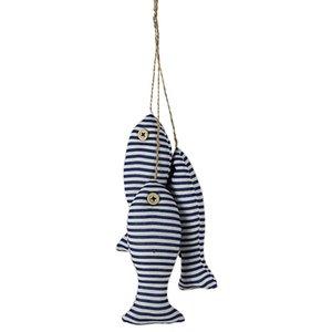 3pcs Dunnny Fashion Mediterranean Beach Ocean FISH Shape Cloth Ornaments Art Nautical Hand Decor for Home Hall Wall Decoration