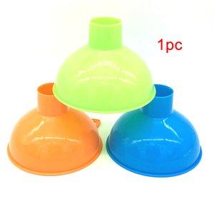 1Pc Kunststoff-Heizöl-Trichter Trichter aus Kunststoff Küchenhelfer Heimwiederverwendbare Durable Wide Mouth Wear-Resistant Funnel
