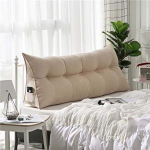 Chpermore de lujo de alta calidad simple cojín de sofá-cama doble tatami bolso cama blanda almohada de la cama extraíble para dormir T200114