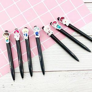 Kpop House Of Bangtan Boys JK Ballpoint Pens Kawaii Black ink Ballpen Pilot Pen For Office School Writing Supplies Stationery