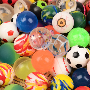 Bouncy ball 32mm mixed rubber ball Automatic sales gashapon machine special jumping ball small toy