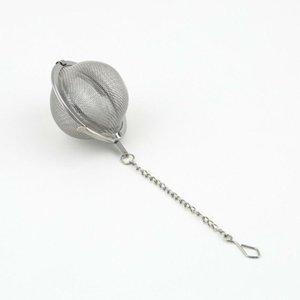 En İyi Fiyat 100 adet / grup 4.5 cm Paslanmaz Çelik çay Pot demlik Küre örgü Süzgeç topu 4.5