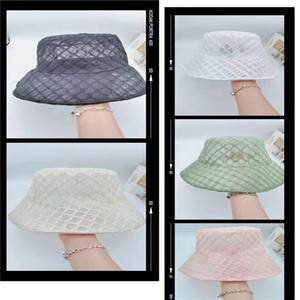 The new 2020 spring and summer high-end temperament net gauze fisherman hat, leisure joker designed for women's central defender, personalit