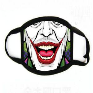 2020 HOT Funny Face Máscara reutilizáveis impressão dos desenhos animados Designer poeira Máscara ultravioleta-prova lavável Correndo Máscara Bicicleta da equitação Protective