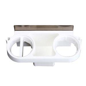 욕실 벽 스토리지 랙 헤어 드라이어 홀더 주최자 셀프 접착 샴푸 스트레이트 선반을 장착