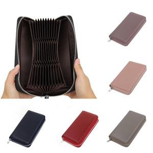 RFID Women's Men Luxury Designer Genuine Leather Long Wallet Money Card Holder Purse Clutch Handbag New Style