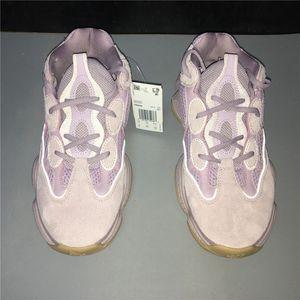 2020 caliente Ins Kanye West zapatos corrientes de Thanos lavanda diseñador púrpura 500 ocasional de las zapatillas de deporte para hombre cómoda de la manera de las mujeres 36-46