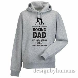 I 039 M A BOXING DAD Boxer Father 039 s Day Sports Themed Men 039 s Hoody Hoodies