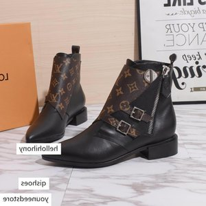 New13 high quality ladies casual boots wild women's boots business work women's shoes original box packaging fast delivery