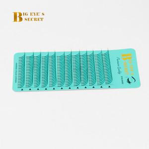 3D длинный стебель пластиковая коробка готовые вентиляторы ложные ресницы объем ресницы макияж красоты объем наращивание ресниц Бесплатная доставка