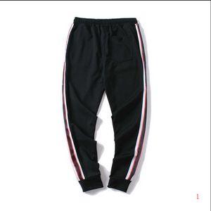 20s Fashion Mens Pants Jogger Track Pants Top Quality Pants Side Stripe Letters Print Men Sportwear Trouse