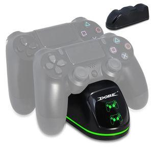 DOBE TP4-1781-Wireless Controller-Dual-Ladestation-LED-Ladegerät-Griff Ladegerät für PS4 / Slim / Pro