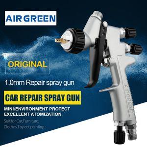 MINI riparazione Pistola a spruzzo SRi Pro 1,2 millimetri per gravità HVLP spruzzatore della vernice con la tazza 250ml
