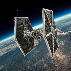 Çocuklar için Legoinglys Oyuncaklar ile uyumlu 10900 Yıldız Serisi Savaşları Imperial Tie Fighter Yapı Taşları simgesel Saldırı Craft