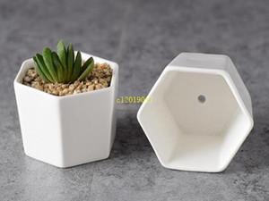 100 piezas de cerámica macetas bonsai surtidores al por mayor mini blanco macetas de porcelana para la siembra de los plantadores de interior hogar de ancianos suculentas