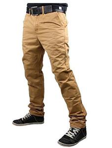 Pantalon Solide Couleur Casual Hommes Pantalons tube droit Designer en vrac Pantalon droit Taille Plus longue Vêtements Homme