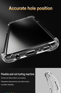 Shockproof Clear Silicone Case For Samsung Galaxy S7 edge A5 A7 J5 J7 S8 S9 S10 Plus Note9 A6 A8 Plus A7 Cover With Ear Infrared Thermometer