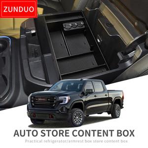 ZUNDUO Car Center Console bracciolo Box di stoccaggio per il 2019 stoccaggio Chevy Silverado 1500 GMC Sierra 1500 Interior Accessori Coin