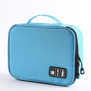 Data Cable Storage Bag Mobile Hard Disk Charger U Disk Accessories Finishing Bag Multi-Function
