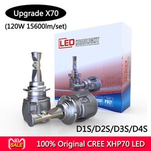 2018 CR-EE XHP70 15600lm 120W H4 H7 H8 H9 H11 9005 9006 D1S D2S D3S D4S X70 LED المصباح السيارات لاستبدال المصابيح الأمامية للسيارات HID