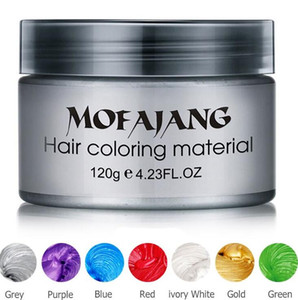 الشعر المهنية المراهم Mofajang دهن الشعر الشعر الطبيعي تلوين أسلوب قوي المادي استعادة مرهم 120G والشمع للرجال الجواب النساء