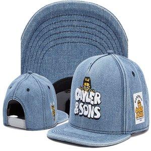 الساخن بيع حار أسلوب TMT القبعات snapback القبعات كاره SNAPBACKS أبناء فريق الماس شعار القبعات الرياضية الهيب هوب caylor سنببك القبعات