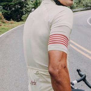 2020 그리 즐 자전거 저지 정장 간단한 사이클 마모 고전 MTB 도로 자전거 타기 의류 짧은 저지와 턱받이 반바지 긴팔