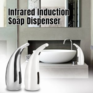 Shampooing Free Hand Sanitizer Touchless automatique infrarouge Dispensador 650ML liquide automatique de savon en mousse Distributeur de cuisine Salle de bains