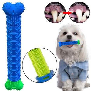 Pet Dog Chew giocattoli di gomma molare Stick Pet Dog Bite Spazzolino Resistente giocattolo orale dente giocattolo Artefatto pulizia spazzolatura osso di cane