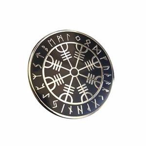 Гадание по скандинавским рунам Viking Compass Norse rune Pin