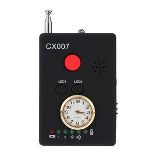 Dispositivo di trasporto multi fili Onda radio del segnale RF GSM Spy cameraLens sensore Scanner Detector Finder CX007 allarme