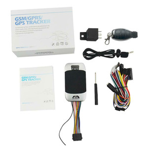 DHL / Fedex 10 UNIDS Original A Prueba de agua Gps Tracker TK303G 2g Gps Tracker Car Gps303 GPS303G Tracker