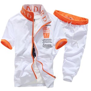 Nuovi Arrivi Moda Uomo Manica Corta Tuta Casual sporting Suit felpe e pantaloncini Estate Moda Casual Medusa Sportswear Set