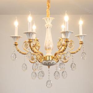 Kristall Kronleuchter Modern K9 Kristall E14 Keramik Platte Home Beleuchtung Vorrichtung Suspension Droplight Living Dining DHL