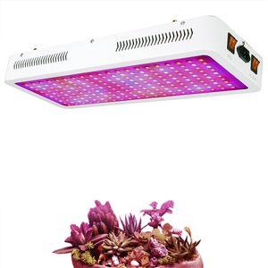 2000W pianta del LED coltiva la luce con umidità del termometro del monitor e corda regolabile, Full Spectrum doppio interruttore pianta chiara per le piante